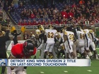 HSFB Finals roundup: King wins in wild D2 finish