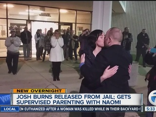 Baby Naomi's father released from jail today