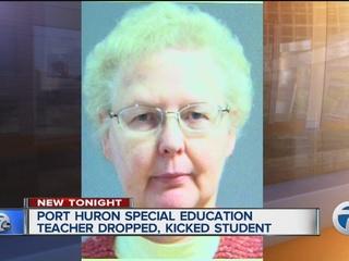 Special ed teacher pleads guilty assault