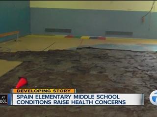 Detroit teachers say school is making them sick