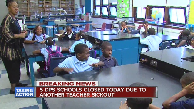 Are Schools Closed Today: Several Detroit Public Schools Closed Due To Sick-outs