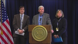Snyder requests expanded Medicaid for Flint