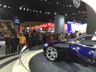 NAIAS draws more than 200K first weekend