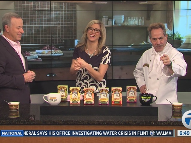 Soupman stopped by Broadcsat House Saturday to talk about an event planned for this weekend.