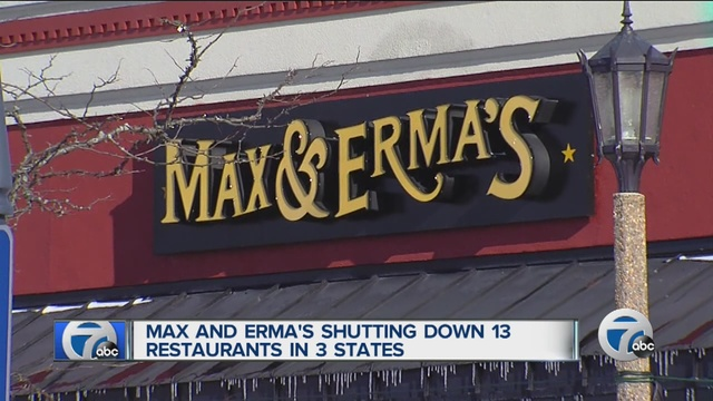 Max & Erma's closes 13 restaurants in the Midwest, including 3 in Ohio