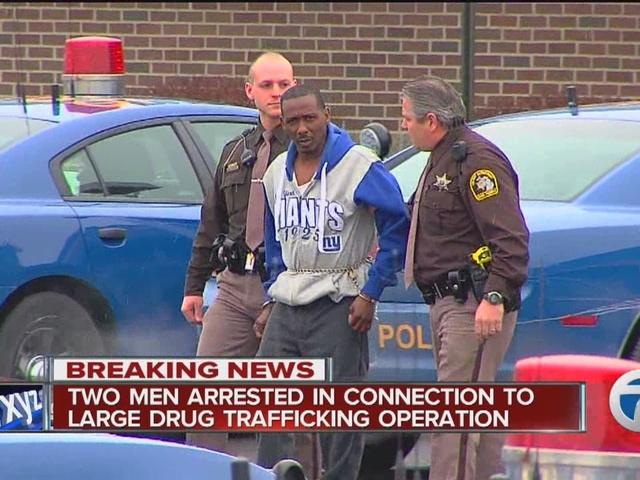 Men connected to large drug operation arrested
