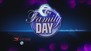 Dr. Oz visits Auto Show for Channel 7 Family Day