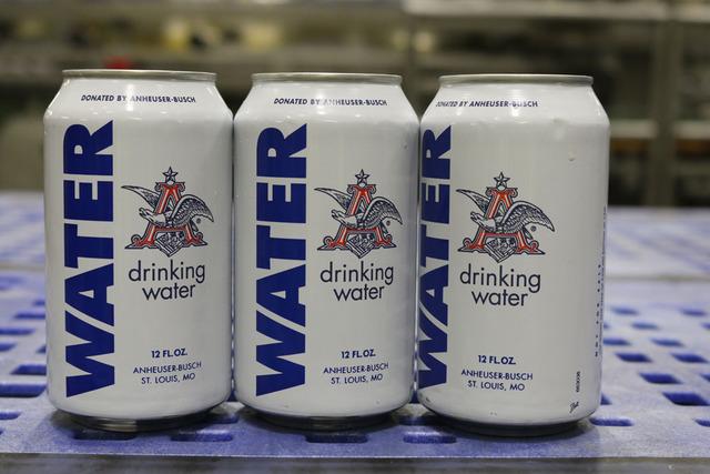 Гуманитарный груз от Budweiser в виде воды