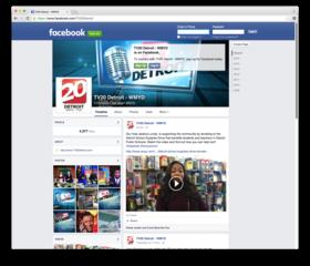 Like TV20 Detroit on Facebook