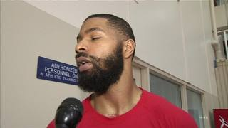 Morris comments on Drummond pre All-star game