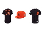 Tigers unveil new spring training uniforms