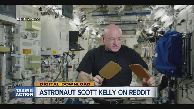 Redditors ask NASA's Scott Kelly interesting questions ...