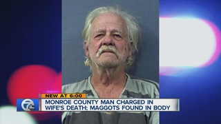 Monroe man charged in neglect death of wife