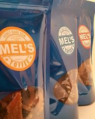 Mel's Toffee offers alcohol-infused flavors