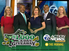 $1,000-A-Day Giveaway: Mornings on 7 Action News