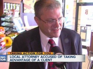 Local attorney accused of taking woman's money