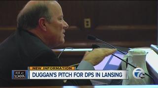 Duggan says DPS legislation doesn't do enough