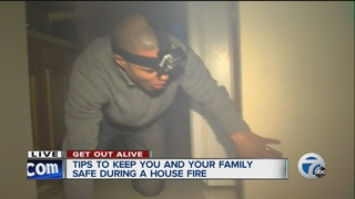 What you need to know to escape a house fire