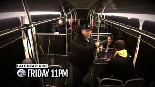 Going along on Mayor Duggan's overnight bus ride