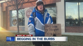 Begging in the suburbs: Should you give?