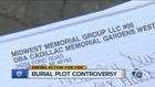 Woman claims cemetery owes her hundreds