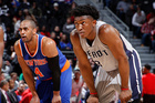 Jackson clutch again in Pistons win over Knicks