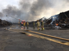 Schools closed today after warehouse fire