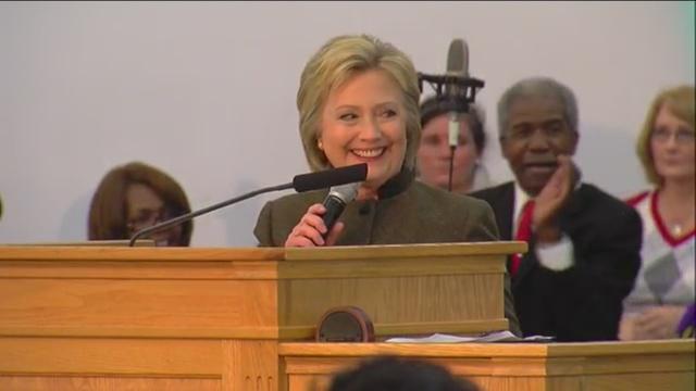 WATCH: Hillary Clinton speaks at Flint church