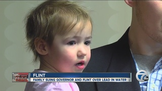 Family of Flint toddler sues over tainted water