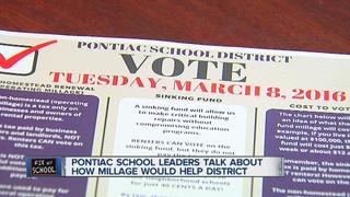 Pontiac schools leader speaks about millage