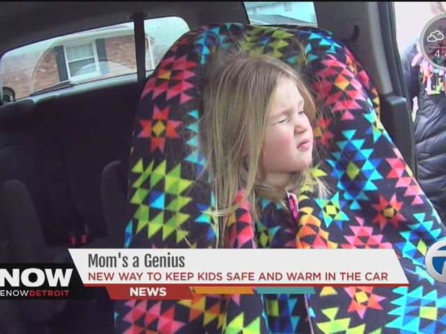 Mom's a Genius: New way to keep kids safe and warm in the car