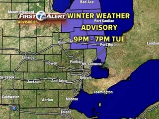FORECAST: Winter Weather Advisory in effect