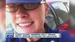 Coast Guard rallies around injured comrade