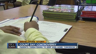 Parents threaten student sick-out on Count Day