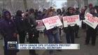 Detroit students protest schools before class