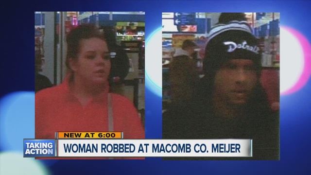 Police search for suspect in purse snatching