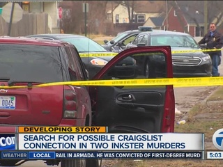 Inkster murders may have Craigslist connection