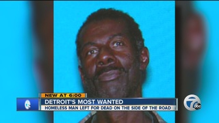 Search for suspects is murder of homeless man