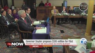 Gov. Snyder proposes budget with plans for Flint