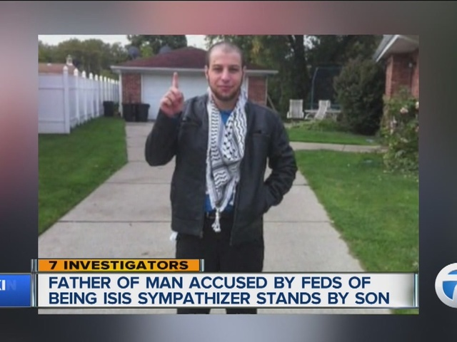 Man who allegedly plotted an ISIS style attack appears in court