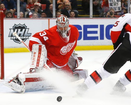 Mrazek stays hot as Red Wings top Senators
