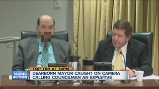 Mayor apologizes for behavior at public meeting