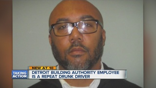 Building Authority employee serves time for DWI