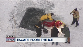Surviving the plunge through thin ice