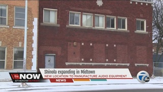 Shinola expanding to new building in Midtown