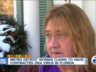 Metro Detroit woman may have Zika virus