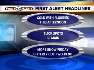 FORECAST: Even colder temps this weekend!