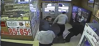 VIDEO: Detroit police search for men in assault