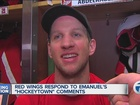 Red Wings laugh off Chicago's Hockeytown claim