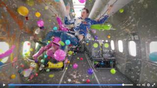 VIDEO: OK Go's cool zero gravity music video